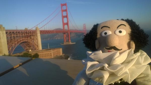 Shakespeare and the Golden Gate Bridge